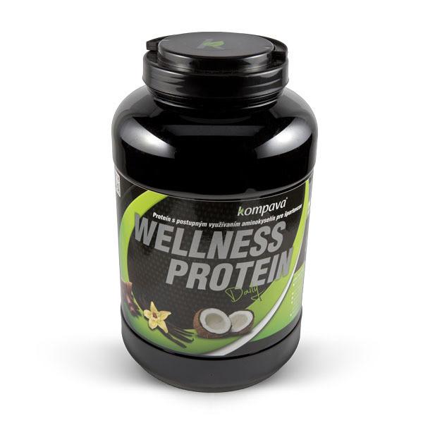 Kompava Wellness Protein 525g Čokoláda